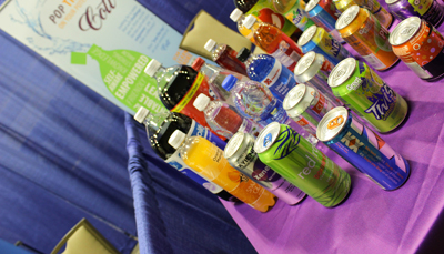 Cott Beverages displayed at the Made in the Inland Empire Showcase